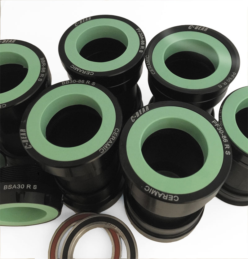 C-bear DUB ceramic bottom bracket group bsa bb30 pf30 pf30a bbr bb386 t47