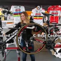 C-bear official material sponsor of Lotto Soudal Team Ladies
