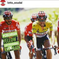 C-bear official material sponsor of Lotto Soudal Team UCI Men