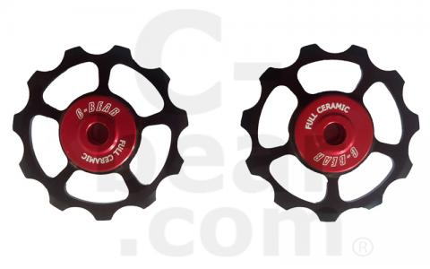 Campagnolo Bike Ceramic Bearing 11T Jockey Wheel For Shimano Sram
