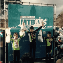 Young cyclist with C-Bear MTB Team