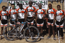 c-bear proudly sponsored lesotheo first black uci mtb team