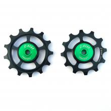Pulley wheels OCM (Original Cage Max)|bi-cycle ceramic bearing|c-bear.com