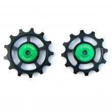 Pulley wheels OCM (Original Cage Max)|bi-cycle ceramic bearing|c-bear.com